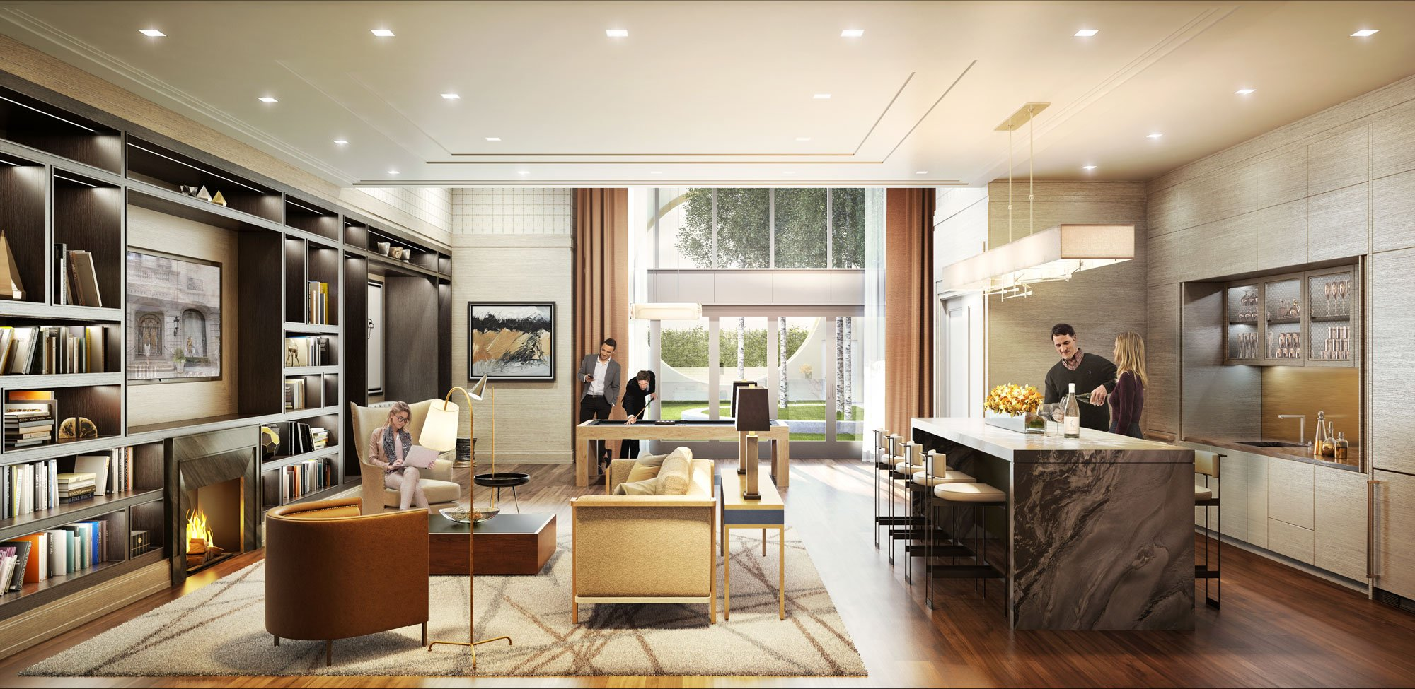 Luxury upper east side condos for sale the kent amenities for Office design kent